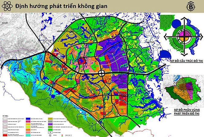 """Hà Nội """"xin"""" thêm thời gian quy hoạch chung đô thị Hòa Lạc"""