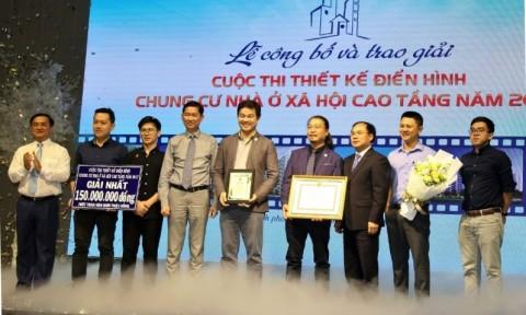 TP Hồ Chí Minh: Trao giải thiết kế điển hình chung cư nhà ở xã hội cao tầng năm 2017
