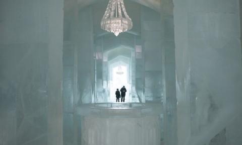 Ngắm khách sạn băng đẹp như trong truyện cổ tích