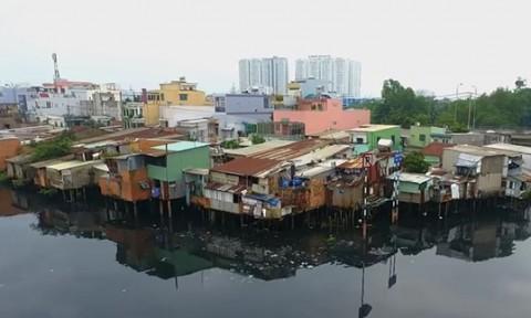 TPHCM: Sẽ di dời 10.000 căn nhà trên và ven kênh rạch
