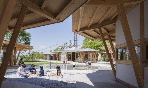 Trường mẫu giáo Muku / Tezuka Architects