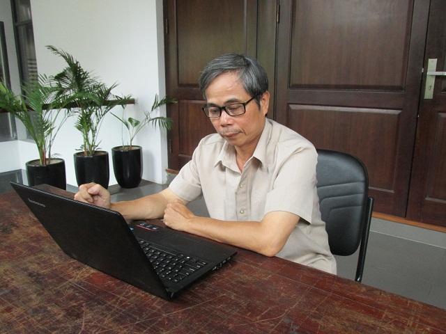 KTS.Trần Huy Ánh -  Ủy viên Thường vụ Hội KTS Hà Nội. (Ảnh: Danviet.vn)
