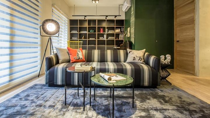Có thể nói rằng, Retro là phong cách mang tính chất hoài cổ nhưng cũng không kém phần hiện đại, bởi vậy nội thất trong căn hộ có sự kết hợp cả hai trường phái chân thành, đơn giản, nhưng vẫn hiện đại và quyến rũ