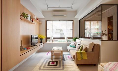 Căn hộ nhỏ có cách bố trí nội thất linh hoạt
