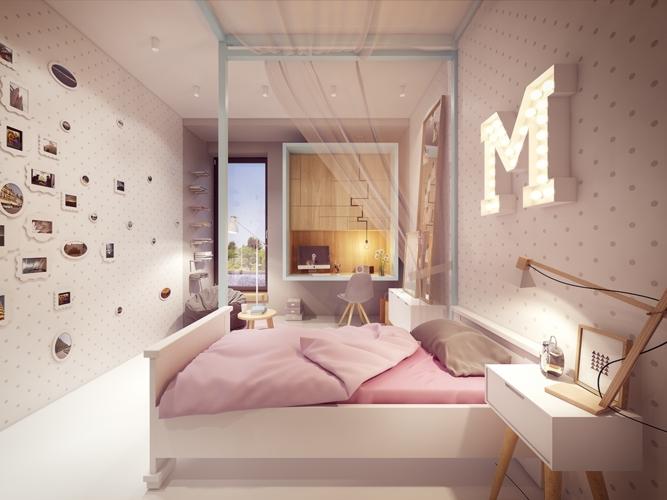 Căn phòng là ước mơ của mọi cô gái