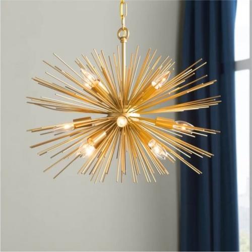 """Lấy ý tưởng từ hình dáng sao biển, chiếc đèn chùm thực sự là vật trang trí """"đắt giá"""" cho những ngôi nhà hiện đại"""