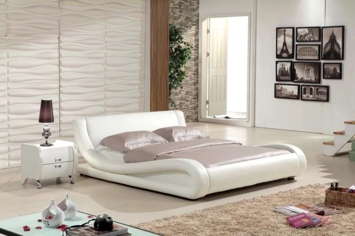 Tạo dáng giống hình dạng chiếc xe trượt tuyết, chiếc giường ngủ tuyệt đẹp này chắc hẳn sẽ là điểm nhấn thú vị trong mỗi phòng ngủ gia đình