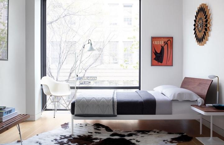Chiếc giường ngủ phù hợp với lối sống hiện đại, không cầu kỳ chi tiết nhưng vẫn đảm bảo đầy đủ công năng