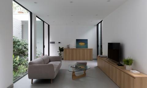 Nhà Thuỵ Khuê – Một không gian tương phản với bộn bề bên ngoài