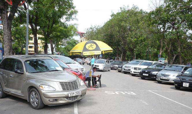 Theo quy hoạch trong các năm tới hệ thống bãi đỗ xe công cộng Hà Nội sẽ đáp ứng 60% nhu cầu của người dân
