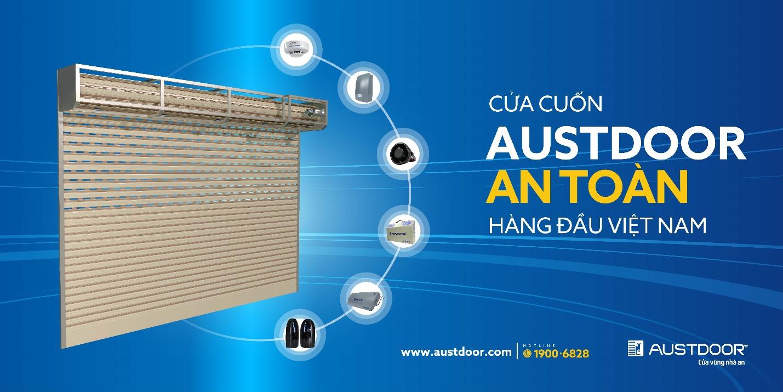 Austdoor luôn là đơn vị tiên phong trong ngành cửa cuốn