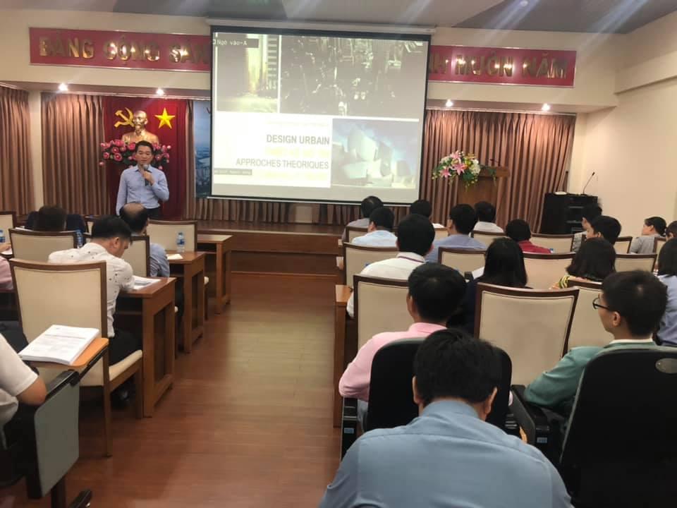 TS.KTS.Nguyễn Quốc Hùng (Phó Viện trưởng Viện Quy hoạch XD Miền Nam)  Nghiên cứu trường hợp thiết kế đô thị tại TPHCM