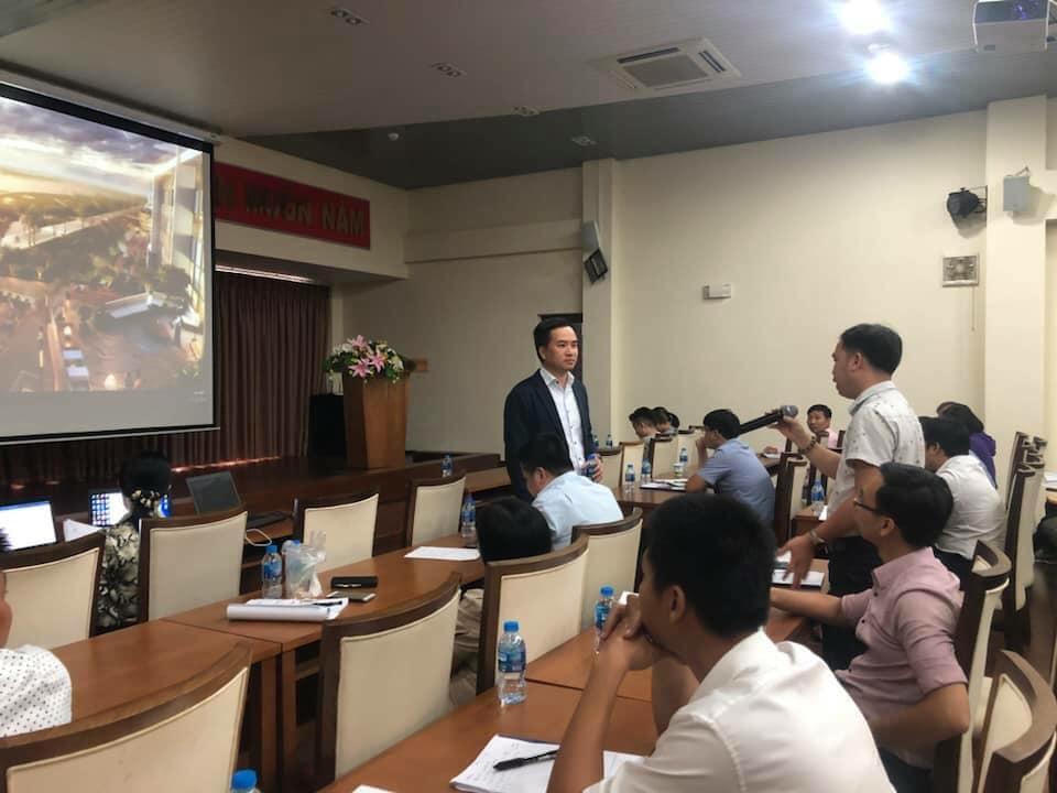 Quy hoạch sư Nguyễn Đỗ Dũng - chuyên gia tư vấn Công ty CPG Singapore Các kỹ năng cơ bản trong TKĐT và Thiết kế kiến trúc bản địa