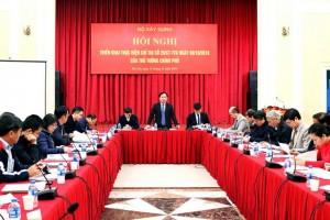 Hội nghị về tăng cường hiệu lực quản lý nhà nước đối với nhà chung cư