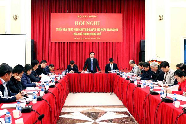 Thứ trưởng Nguyễn Văn Sinh chủ trì hội nghị