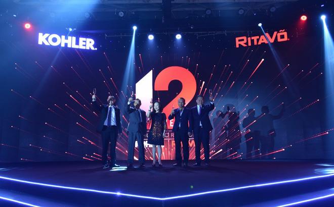 Đại Diện Công ty RitaVõ và Tập Đoàn Kohler nâng ly chúc mừng cho sự hợp tác thành công giữa hai bên trong suốt 12 năm qua tại thị trường Việt Nam