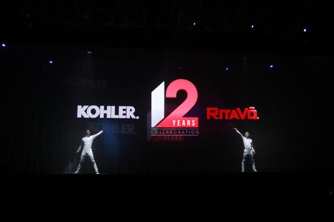 Hành trình phát triển của RitaVõ và Kohler được dẫn dắt qua các tiết mục nghệ thuật