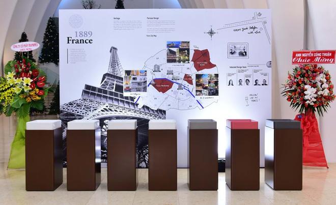 Khu trưng bày sản phẩm thiết bị vệ sinh đến từ thương hiệu Jacob Delafon