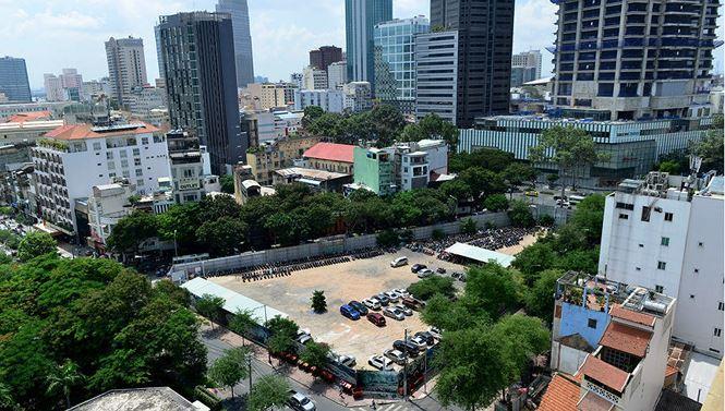Khu đất vàng 8-12 Lê Duẩn, quận 1 mà nguyên Phó chủ tịch UBND TP.HCM Nguyễn Thành Tài giao trái phép cho công ty tư nhân