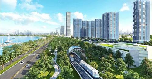 Phối cảnh quy hoạch tuyến metro số 2 (Bến Thành - Tham Lương)