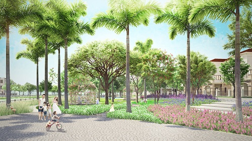 Dự án được quy hoạch thiết kế đảm bảo hài hòa giữ không gian riêng tư, tiện ích công cộng và cảnh quan thiên nhiên