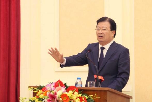 Phó Thủ tướng Chính phủ Trịnh Đình Dũng dự và chỉ đạo Hội nghị