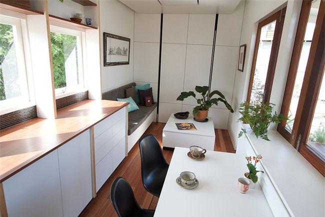 Ngôi nhà nhỏ có đủ không gian cho hai người