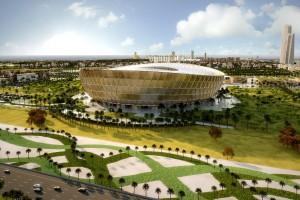 Foster + Partners thiết kế sân vận động vàng cho trận chung kết World Cup Qatar