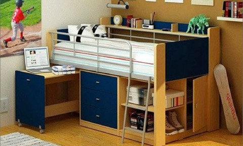 Những chiếc giường ngủ xinh xắn giúp trẻ ngủ ngon, thích thú hơn