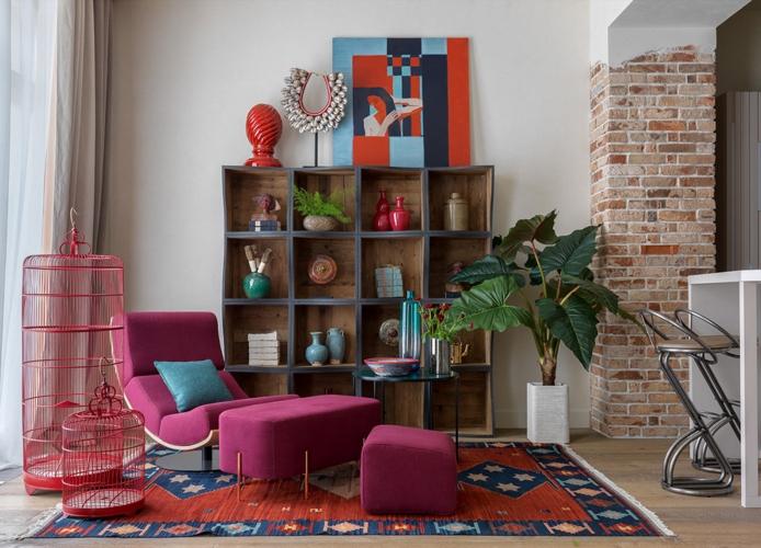Thay thảm trải sàn màu sắc mang đến nơi nghỉ ngơi, thư giãn cho các thành viên