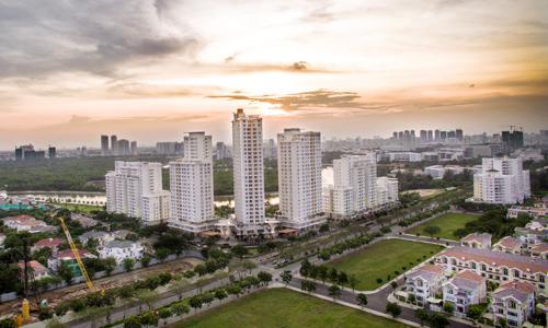Thị trường căn hộ phía Nam TP HCM. Ảnh: Lucas Nguyễn