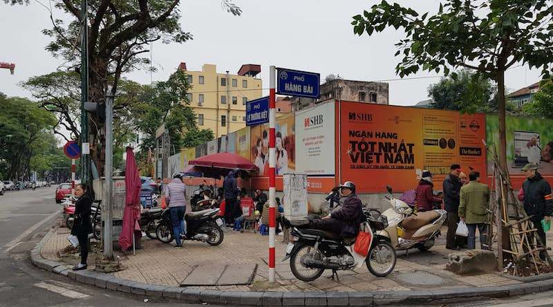 """Khu đất """"vàng"""" 31-35 Lý Thường Kiệt vừa được UBND TP Hà Nội đề xuất xây dựng trụ sở văn phòng của Ngân hàng TMCP Sài Gòn - Hà Nội cao 45m, quy mô 14 tầng + 1 tum"""