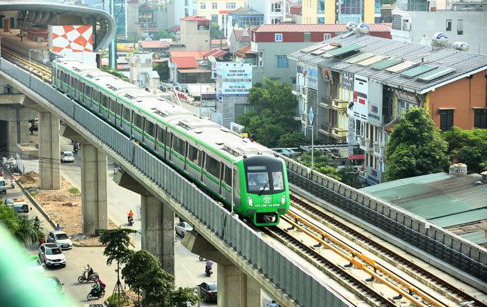 Tuyến đường sắt đô thị Cát Linh - Hà Đông dự kiến hoạt động từ 2019