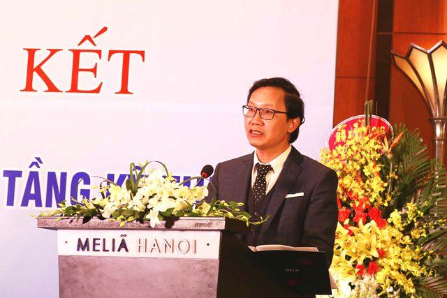 Thứ trưởng Nguyễn Đình Toàn phát biểu tại Hội nghị
