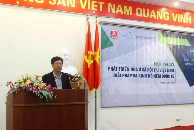 Giám đốc Học viện AMC Trần Hữu Hà tham luận tại Hội thảo