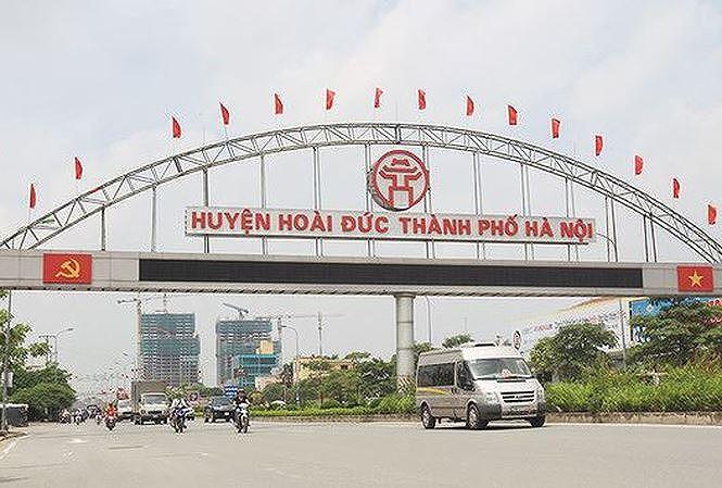 Quy hoạch Trung tâm thị trấn Trạm Trôi theo định hướng huyện Hoài Đức thành quận