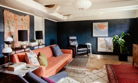 Nội thất dành cho chủ nhà yêu thích sự sắc nét và trật tự