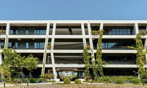 Concrete Lace – Viền đăng ten cho bầu trời