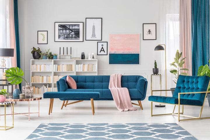 Xanh navy: Trang trí nhà cửa bằng màu sắc đặc biệt này sẽ thổi làn gió mới và lạ khiến bất cứ ai bước vào nhà cũng phải trầm trồ tán thưởng