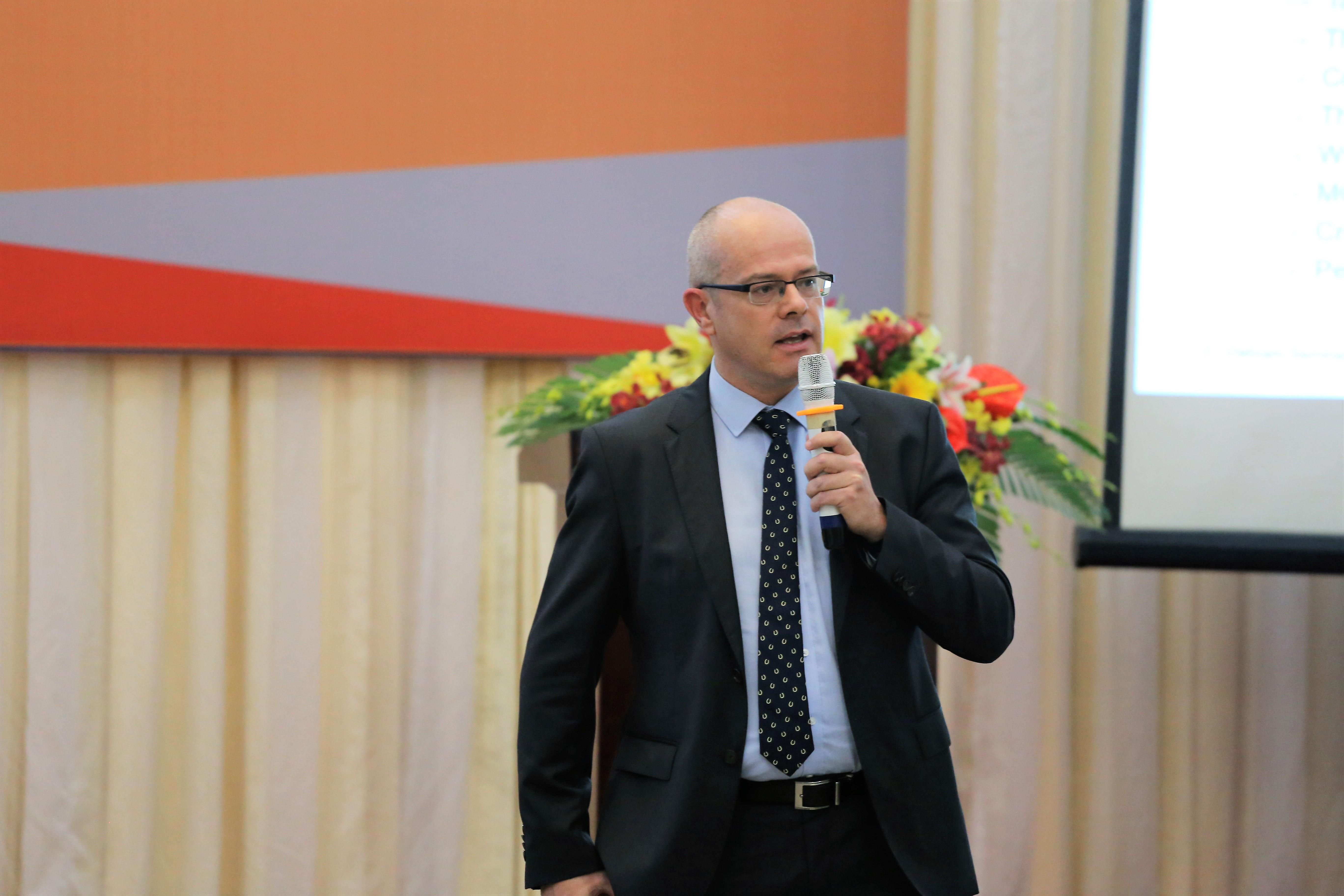 Ông Wayne Robert Pannel - Phó chủ tịch khu vực Nam Á - Tập đoàn Allegion