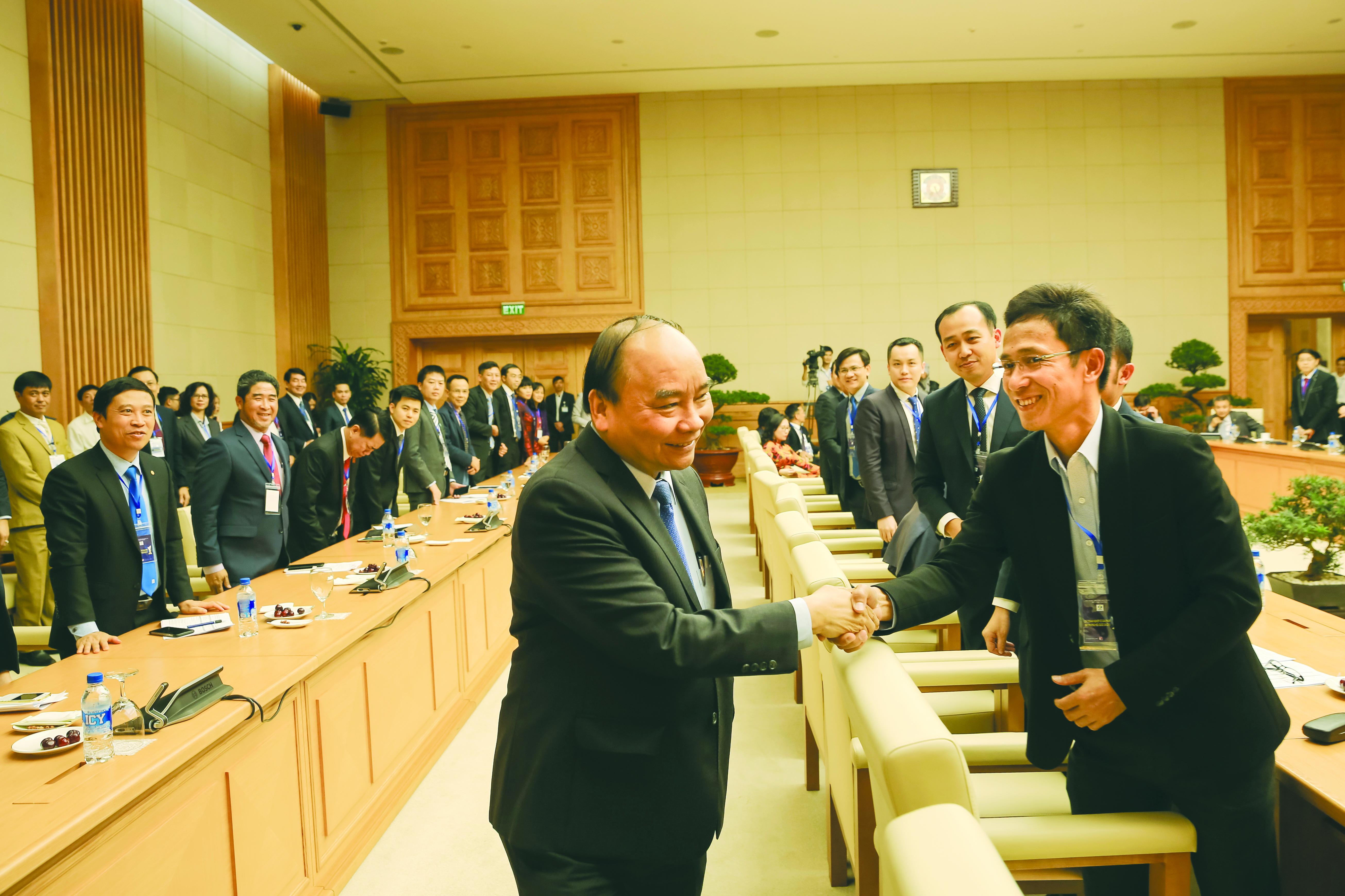Ông Dương Quốc Tuấn – Tổng Giám đốc Tập đoàn Austdoor tham dự  tiếp kiến Thủ tướng Chính phủ Nguyễn Xuân Phúc