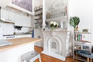6 cách đơn giản để giúp không gian bếp hẹp thêm đẹp và rộng rãi