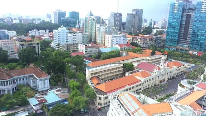 Kiến trúc đô thị TP.HCM là sự pha trộn giữa truyền thống và hiện đại