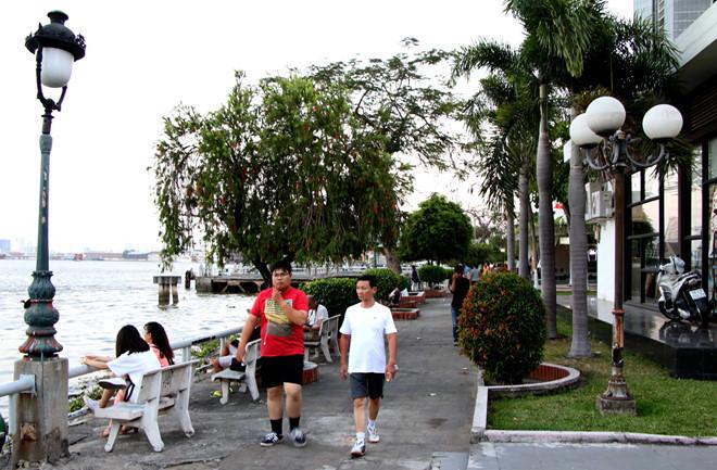 Công viên bến Bạch Đằng ẢNH: KHẢ HÒA