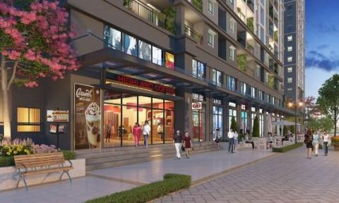 Giá bán căn hộ thương mại tại các khối đế chung cư tăng mạnh