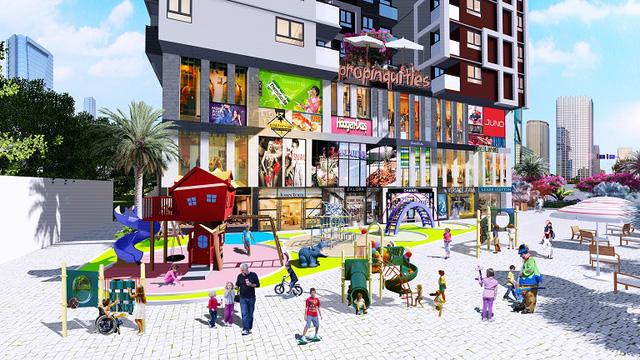 Dự án tích hợp nhiều tiện ích hiện đại đáp ứng mọi nhu cầu của cư dân