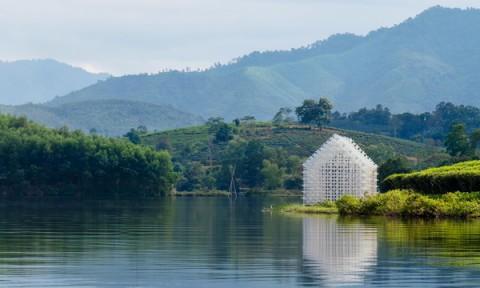 """""""MODULE +"""" – Một kết nối giữa kiến trúc, tự nhiên và con người ở đồi chè Thanh Chương"""
