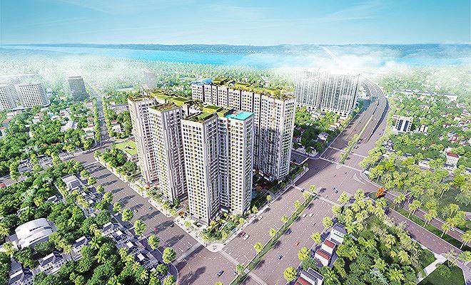 Đường Minh Khai ngay trước dự án đã được mở rộng và đưa vào sử dụng