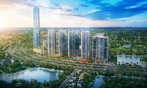 Eco Green Saigon bán những căn cuối hai tòa mặt tiền đại lộ Nguyễn Văn Linh