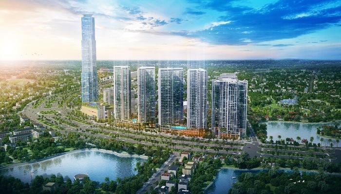 Eco Green Saigon tọa lạc ngay mặt tiền đại lộ Nguyễn Văn Linh, với vị trí đắc địa tại trung tâm quận 7